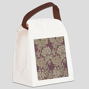 Chrysanthemum William Morris Canvas Lunch Bag