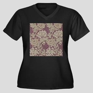 Chrysanthemum William Morris Plus Size T-Shirt