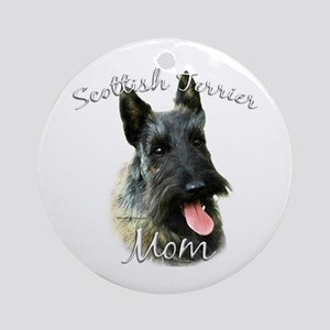 Scotty Mom2 Ornament (Round)