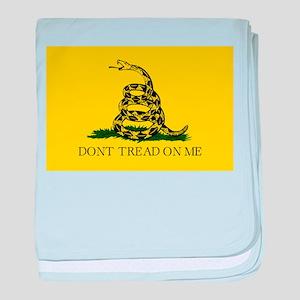 Gadsden Flag - Don't tread on me baby blanket