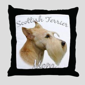 Scotty Mom2 Throw Pillow