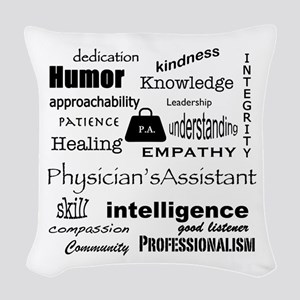 Physician's Assistant Woven Throw Pillow