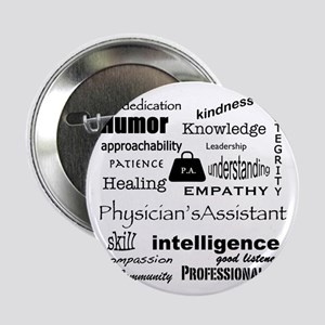 """Physician's Assistant 2.25"""" Button (100 pack)"""