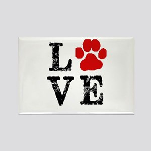 Love with a paw Magnets