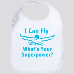 I can Fly What's Your Superpower Bib