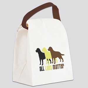 All Labs Matter Canvas Lunch Bag