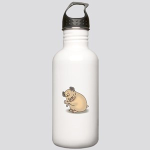 Hamster Cleaning Self Stainless Water Bottle 1.0L