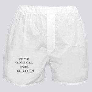 I'm the oldest child i make the rules Boxer Shorts