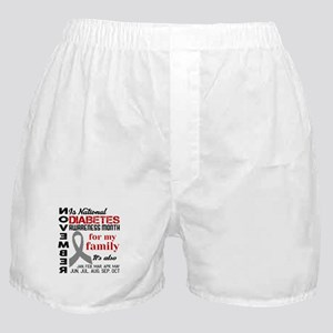 Diabetes - November is national diabe Boxer Shorts