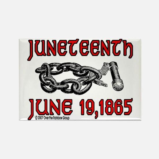 """June19, 1865"" Rectangle Magnet"