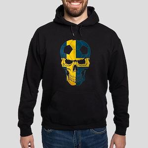 Sweden Soccer skull Sweatshirt