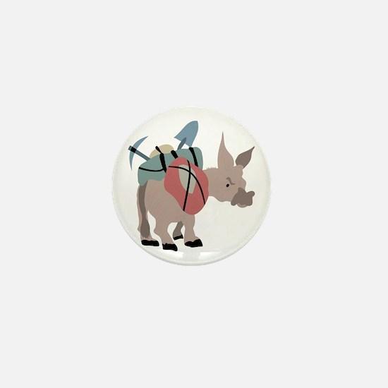Pack Mule Mini Button