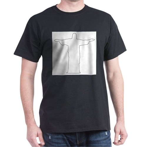 Christ The Redeemer Outline T-Shirt