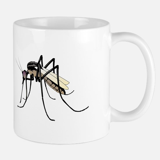 Brown mosquito Mugs