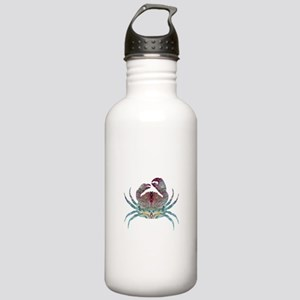 Colorful Crab Stainless Water Bottle 1.0L