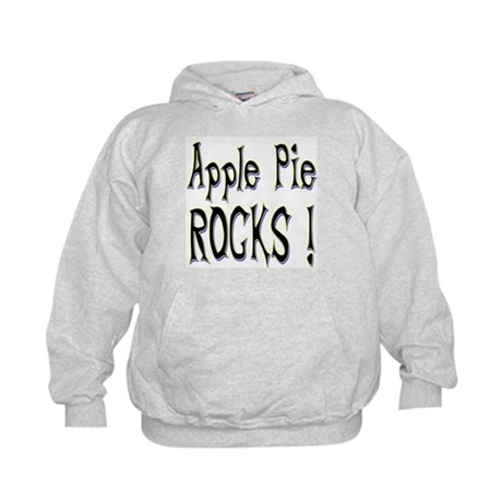 Apple Pie Rocks ! Kids Hoodie