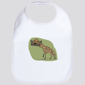 Jackal cartoon Bib