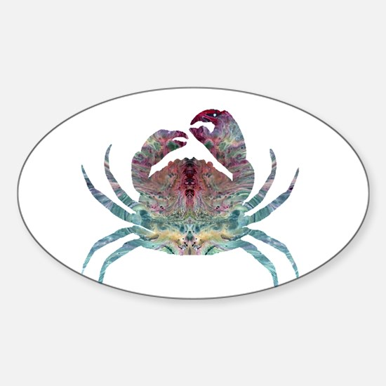 Colorful Crab Decal