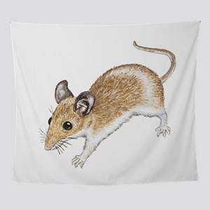 white mouse Wall Tapestry