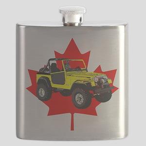 Maple Leaf CJ Flask