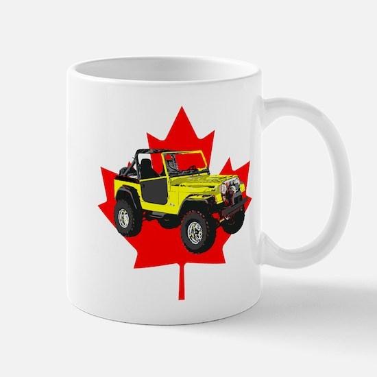 Maple Leaf CJ Mugs