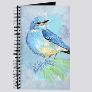 Watercolor Bluebird Blue Bird Art Journal