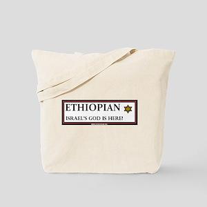 Ethiopian Israel God is Here Tote Bag