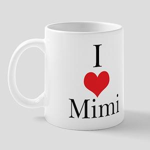 I Love (Heart) Mimi Mug