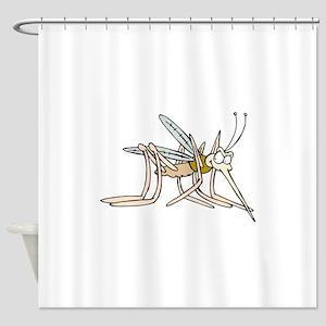 Mosquito bite Shower Curtain