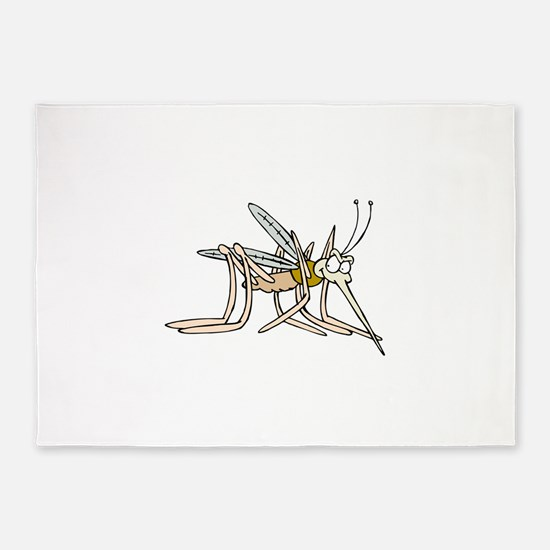 Mosquito bite 5'x7'Area Rug