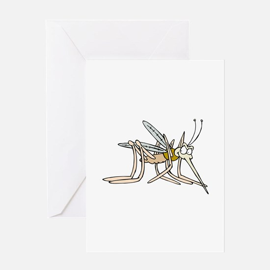 Mosquito bite Greeting Cards