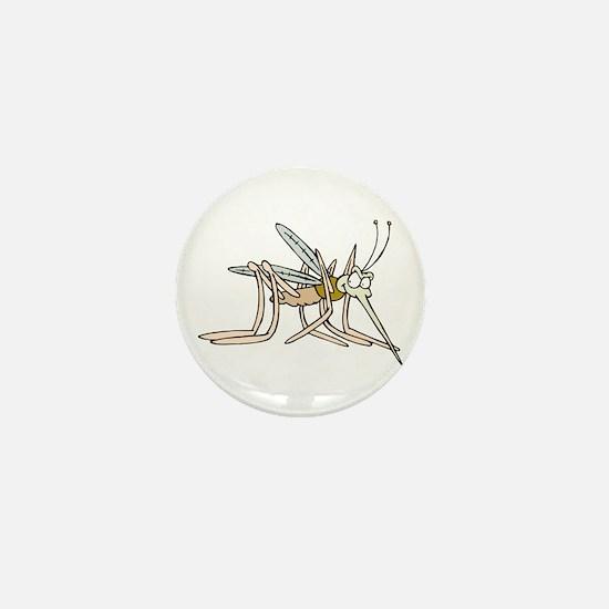 Mosquito bite Mini Button