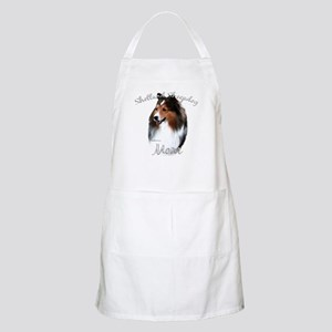 Sheltie Mom2 BBQ Apron