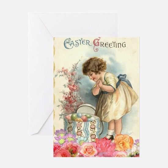 Cute Easter egg Greeting Card