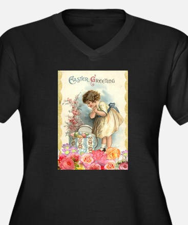 victorian easter Plus Size T-Shirt
