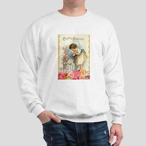victorian easter Sweatshirt