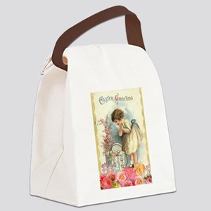 victorian easter Canvas Lunch Bag