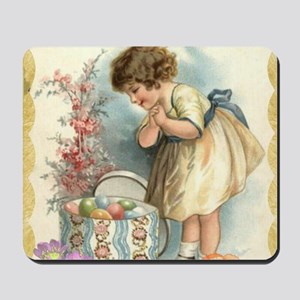 victorian easter Mousepad