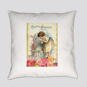 victorian easter Everyday Pillow