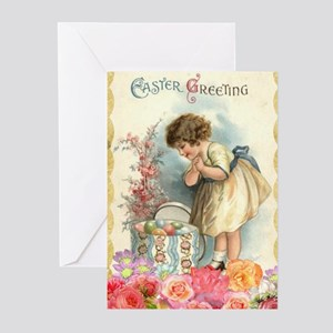 Old fashioned gifts cafepress victorian easter greeting cards negle Gallery