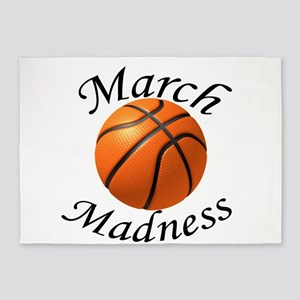 March Madness 5'x7'Area Rug