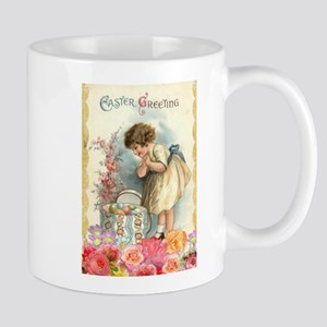 victorian easter Mugs