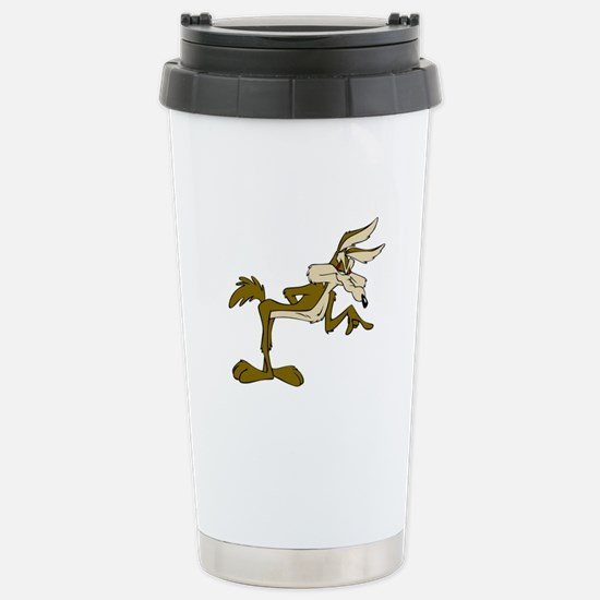 Road Runner Fox cartoon Stainless Steel Travel Mug