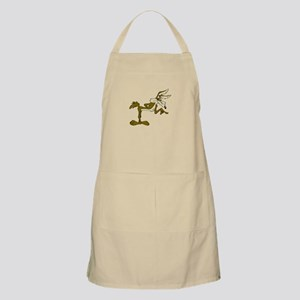 Road Runner Fox cartoon Apron
