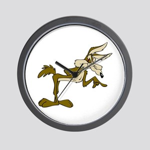 Road Runner Fox cartoon Wall Clock