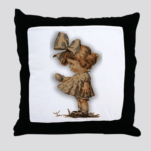 antique easter Throw Pillow