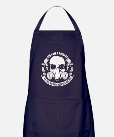 Cute Painter Apron (dark)