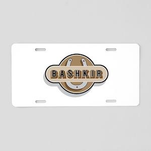 Bashkir Curly Horse Aluminum License Plate