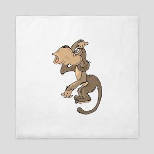 Monkey Confused Queen Duvet