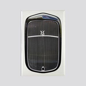 Grill-Black Rectangle Magnet